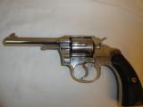 Colt Factory NickelPolice Positive .32 (1921) - 2 of 9
