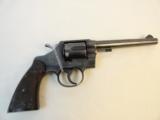 Fine Colt Offical Police Revolver 1950
