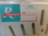 Remington .22's Salesman Sample Box - 2 of 2