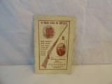 Original Buffalo Newton Rifle Catalog - 1 of 3