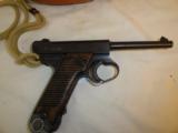 Nice Japanese Nambu Military Pistol- 2 of 12