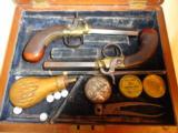 Fine Cased set of D. Egg London Boot Pistols - 1 of 11