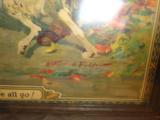 Fine Framed Hercules Powder 1920's Poster - 2 of 4