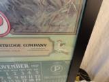 1927 Peters Cartridge Company Framed Original Calendar- 4 of 4
