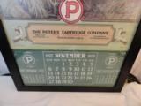 1927 Peters Cartridge Company Framed Original Calendar- 2 of 4