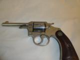 Fine Colt Police Positive .32 Nickel Revolver 1925 - 2 of 6