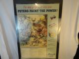 Peters Cartridge Store Advertising Poster - 1 of 2