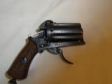 Antique Pinfire Folding Trigger Pepperbox - 1 of 5