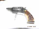 Belgium .22 Mag Folding Trigger Revolver - 1 of 7