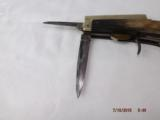 Early James Rogers Combo Knife Pistol - 4 of 12
