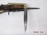 Early James Rogers Combo Knife Pistol - 5 of 12