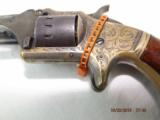 Engraved and Identified American Standard Pocket Revolver - 7 of 20