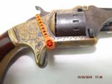 Engraved and Identified American Standard Pocket Revolver - 4 of 20