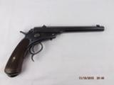 German Single Shot .22 Target pistol - 1 of 15