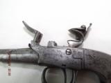 London marked Steel frame Flintlock pistol - 2 of 14