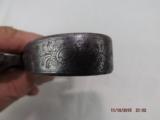 London marked Steel frame Flintlock pistol - 10 of 14