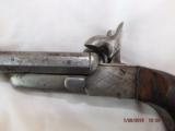 Double Barel Pinfire Pistol With Blade - 5 of 14