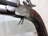 Double Barel Pinfire Pistol With Blade - 12 of 14