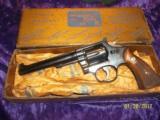 S&W pre-model 17 w/factory gold box- C&R eligible
