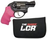 Ruger LCR .38 Special w/Pink Grips- 1 of 1