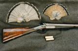 Alexander Henty, Top Lever, 12 bore Double Hammer Gun - 1 of 10
