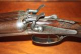 Alexander Henty, Top Lever, 12 bore Double Hammer Gun - 9 of 10