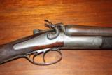 Alexander Henty, Top Lever, 12 bore Double Hammer Gun - 3 of 10
