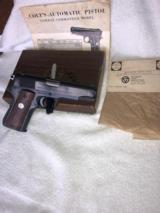 Colt 1911 Combat Commander .45 All Steel -1972