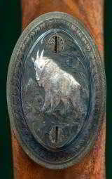 Harry Lawson --- Custom Mauser -- 7mm Rem Mag. --- Engraved and Carved by Norbert Triebel - 14 of 15