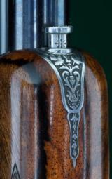J. Purdey & Sons --- Sidelock Ejector Over & Under 12 Gauge --- Engraved by Ken Hunt - 11 of 14