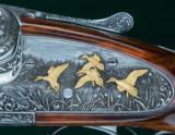 J. Purdey & Sons --- Sidelock Ejector Over & Under 12 Gauge --- Engraved by Ken Hunt - 8 of 14