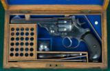P. Webley & Son --- W. G. Model 1892 Revolver --- .455/.476 --- Cased - 8 of 11