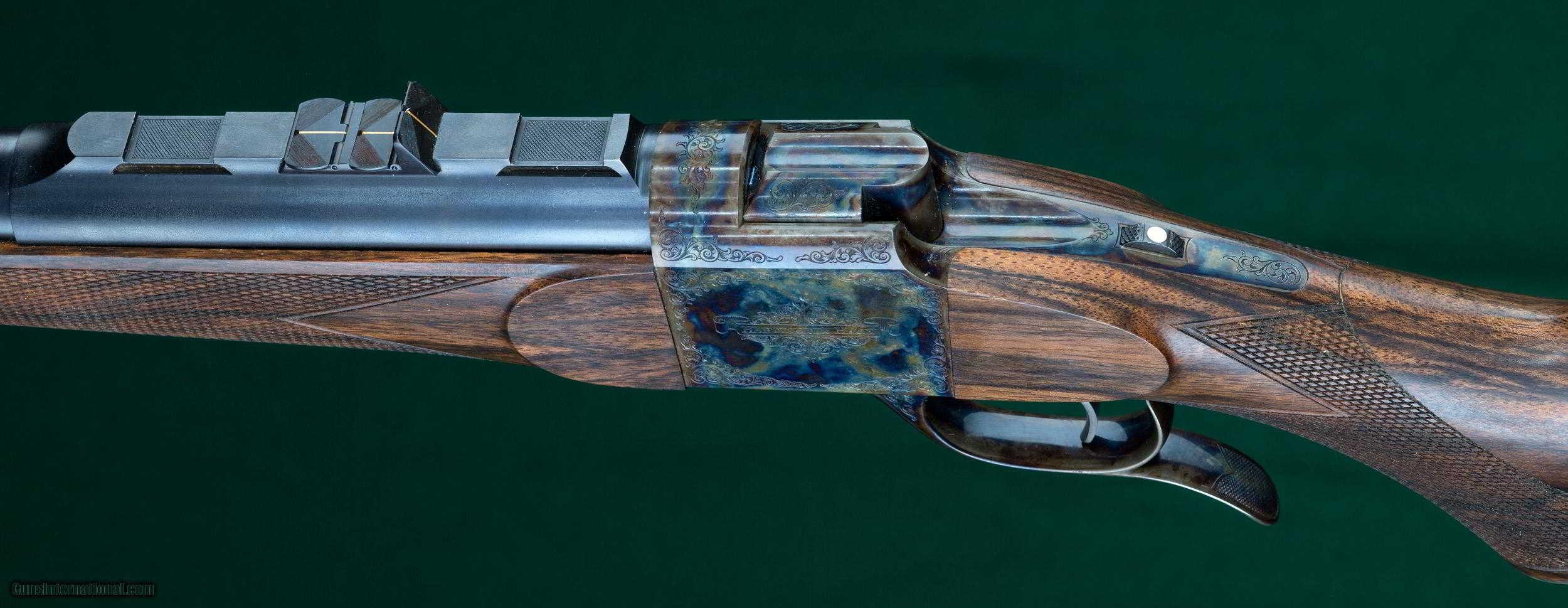 hastings  u0026 hagn --- custom hagn falling block rifle