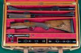 Duane Weibe --- Custom Mauser Takedown Two-Barrel Set -- .338 Win Mag and .416 Taylor