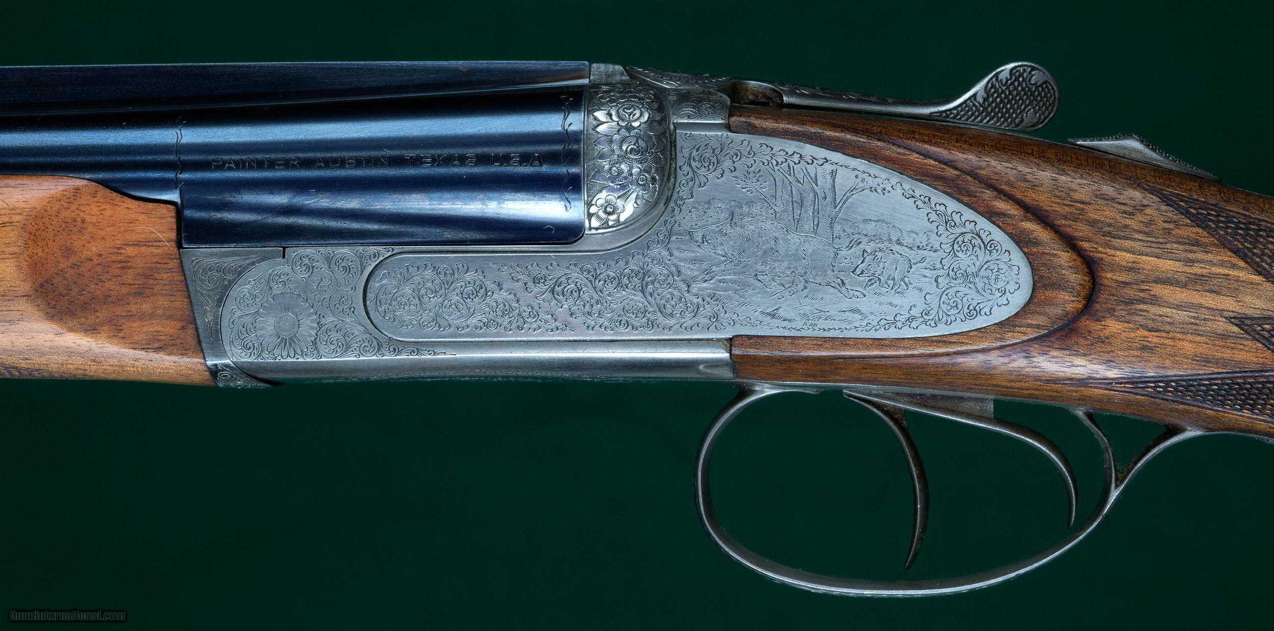 Chapuis Progress Double Rifle And Shotgun Set Boxlock