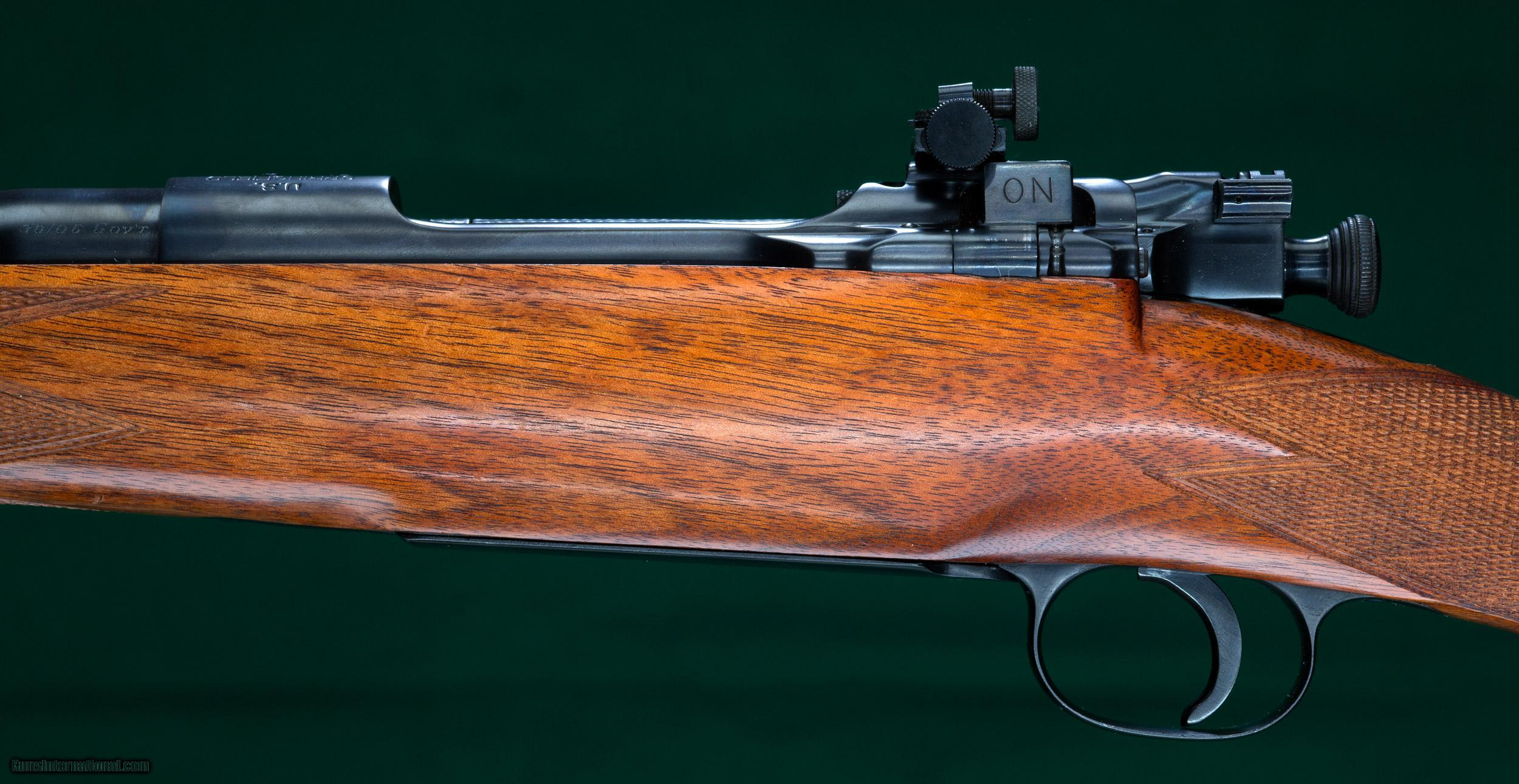 Military Guns For Sale >> Griffin & Howe --- Custom 1903 Springfield Rifle --- .30'06 for sale