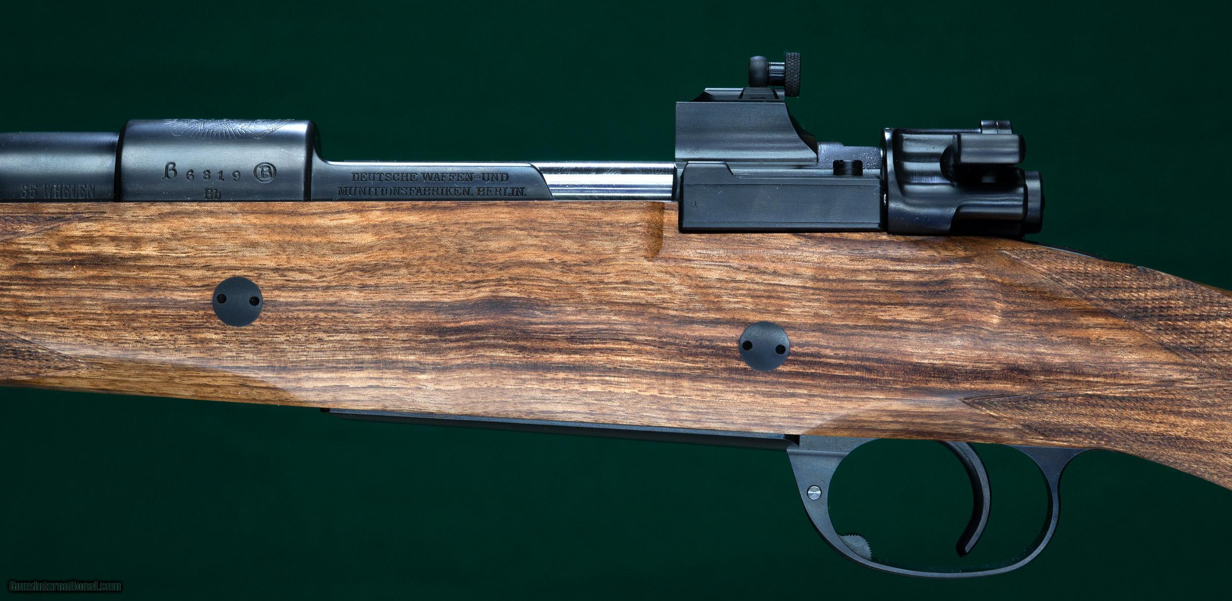 Matthew Roberts Custom Mauser 35 Whelen For Sale
