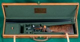 Beretta --- Model 452 Sidelock Ejector Side-by-Side --- 12 Gauge, 2 3/4