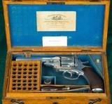 Webley & Scott --- No.4 Pryse Pattern Revolver --- .476 Eley Centerfire