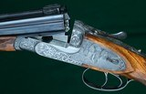 Beretta --- Model 455-EELL Pinless, Hand-Detachable, Sidelock Ejector Double Rifle --- .416 Rigby - 4 of 12
