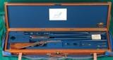Classic Arms Corporation --- Custom George Gibbs Baby Farquharson, Cased Three Barrel Set --- .22 LR, .28-30 Stevens & .360 No.5 Rook - 2 of 15