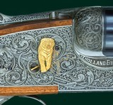 Holland & Holland --- Royal Deluxe Sidelock Ejector Double Rifle Engraved by Eric Gold --- .500-465 H&H Nitro Express - 9 of 15