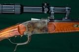 H. Triebel, Augsburg. --- Custom, Aydt-Action, Falling-Block, Single-Shot Rifle --- 9.3x74R