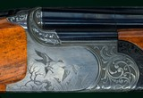 """Mario Beschi --- Boxlock Ejector --- 12 Gauge, 2 3/4"""" Chambers --- Engraved by Manrico Torcoli"""