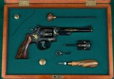 Winston Churchill Engraved Smith & Wesson--- Model 53 --- .22 Magnum & .22 Jet