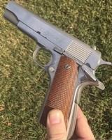 Colt 1911 Pre-70's Factory Nickel 38 SuperMfg. 1957