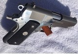 Colt 1911 45 Officers Model Stainless w/Factory Box - 11 of 15
