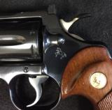 "AS NEW COLT PYTHON 6"" BLUE 357 MAGNUM - MADE 1977 - FINE ORIGINAL GUN"
