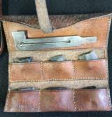 JOHN MANTON CASED 16 BORE DOUBLE BARREL FLINTLOCK SPORTING GUN - CIRCA 1796 - In Manton Books - 12 of 12
