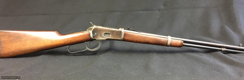 WINCHESTER MODEL 1892 92 25-20 SRC CARBINE MADE 1915 - GREAT BORE - CLEAN GUNWINCHESTER MODEL 1892 92 25-20 SRC CARBINE MADE 1915 - GREAT BORE - CLEAN GUN